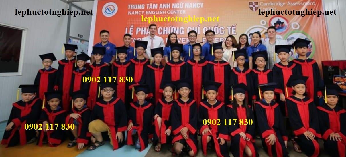 Bán và cho thuê lễ phục tốt nghiệp
