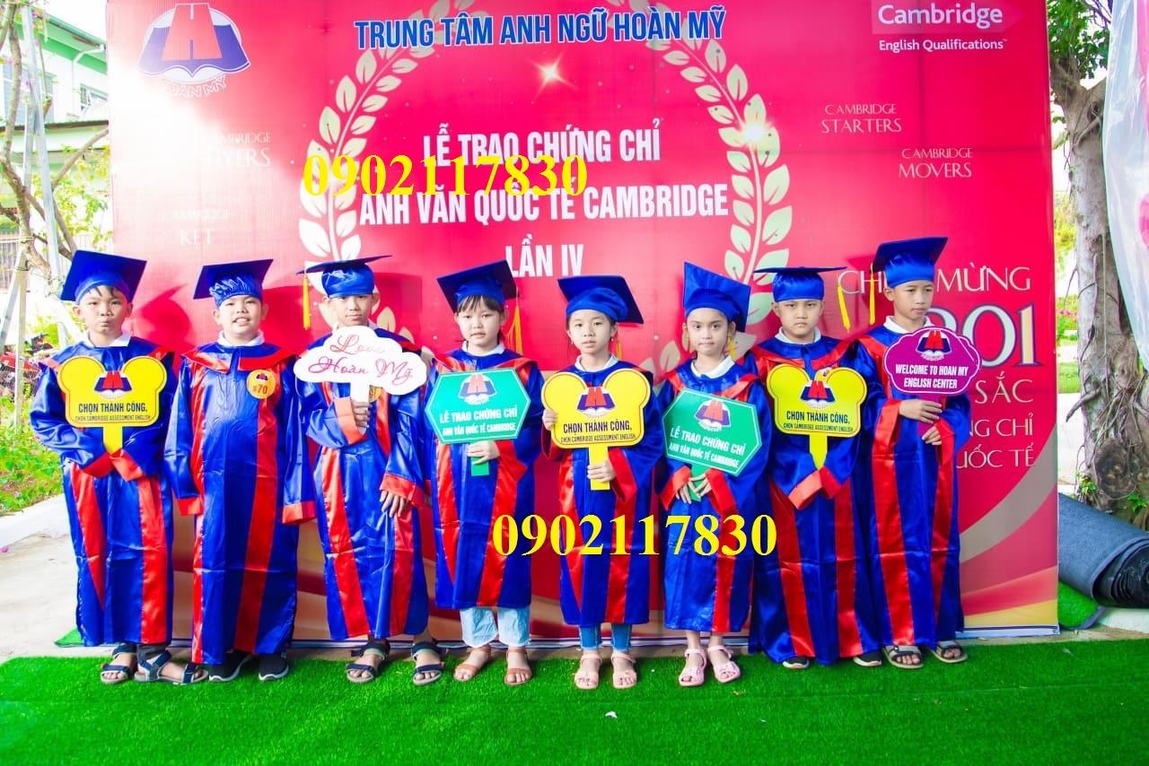 May Áo Cử Nhân Lớp 5 Đồng Nai