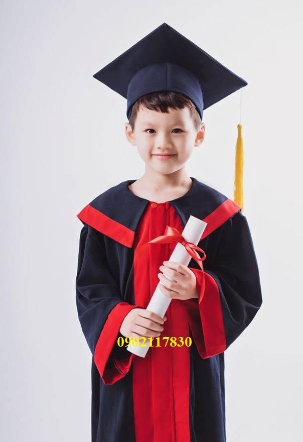 Bán áo tốt nghiệp tiểu học giá rẻ Bình Dương